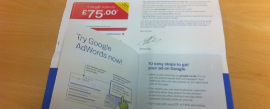 The most expensive direct mailer ever?