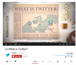 What is Twitter Video Screenshot 16300 views