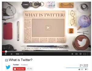 What is Twitter Video Screenshot 21222 views